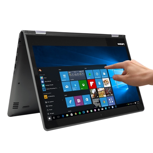 "Lenovo Flex 4-1470 Touch Core i5-6200U Dual-Core 2.3GHz 8GB 256GB SSD Radeon R5 M330 14"" Convertible Notebook W10H"