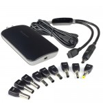 Targus APA69US 90W Universal Notebook/MP3 AC Adapter w/10 Power Tips & Dual Device Adapter -Charge Two Devices At Once!