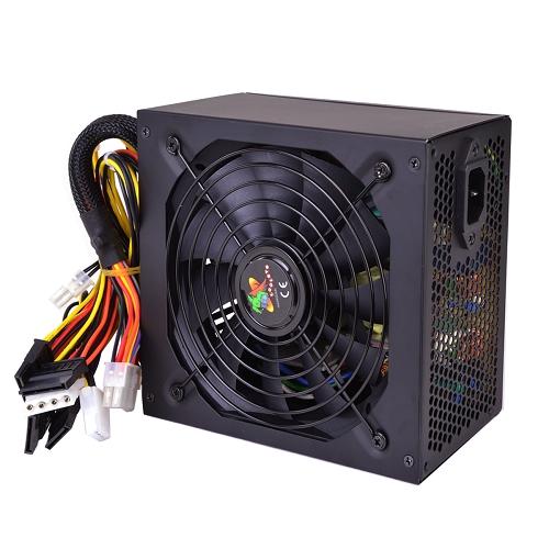 A-Power AK 680W 20+4-pin ATX Power Supply w//SATA /& PCIe Black consumer electronics Electronics