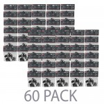 (60-Pack) AEE B10 Head Strap Mount for AEE Action Cameras/GoPro (Black)