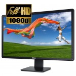 """24"""" Dell E2414Ht DVI/VGA 1080p Widescreen LED LCD Monitor w/HDCP Support (Black)"""