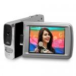 "Polaroid ID1440-BLK 14MP/4x Digital Zoom Full HD 1080p Camcorder w/2.7"" Touchscreen Display (Black)"