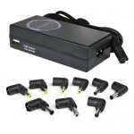 LapTek LT90W 90W Universal Notebook AC Power Adapter w/10W USB Charge Port & 8 Power Tips for Acer