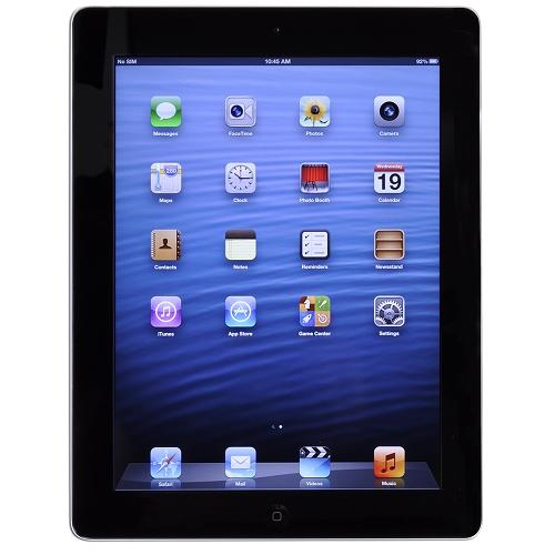 Apple iPad with Wi-Fi 32GB - Black (3rd generation) - B
