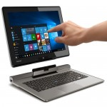 "Toshiba Portégé Z10t Touchscreen Core i5-4210Y Dual-Core 1.5GHz 4GB 256GB SSD 11.6"" IPS FHD Ultrabook Tablet W10H"