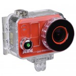 AEE S40 Pro 1080p Action Camera Kit w/16MP Photo Capture & Waterproof Housing (Red/Black)