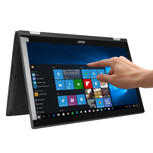 "Acer Spin 3 Touchscreen Core i7-6500U Dual-Core 2.5GHz 12GB 1TB 15.6"" IPS FHD Convertible Notebook W10H w/Cam & BT - B"