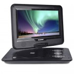 "10.1"" Sylvania SDVD1032 180° Swivel Widescreen Portable DVD Player w/SD Card Slot & USB Port (Black)"