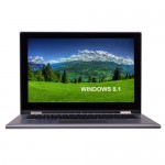 "Dell Inspiron 13 Touchscreen Core i3-4030U Dual-Core 1.9GHz 4GB 500GB 13.3"" HD Convertible Laptop W8.1"