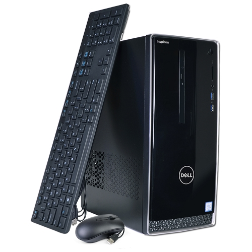 Dell Inspiron 3650 Core i3-6100 Dual-Core 3.7GHz 8GB 1TB DVD±RW W10H Desktop PC w/Bluetooth