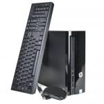 HP Slimline 260-a059w Fusion Quad-Core A6-7310 2.0GHz 8GB 1TB DVD±RW W10H Desktop PC w/HDMI