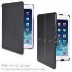 (3-Pack) Marware Microshell Folio Cases (2 - Purple) & C.E.O. Hybrid Case (1 - Black) for Apple iPad mini