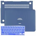 "SlickBlue Leatherette Hard Case for 11"" MacBook Air w/Keyboard Cover (Royal Blue)"