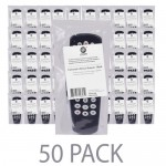 (50-Pack) @.com DCD14205 Universal 4-Divice Remote (Black)