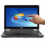 """Dell Latitude E7240 Touchscreen Core i7-4600U Dual-Core 2.1GHz 8GB 256GB SSD 12.5"""" FHD Ultrabook W7P (Skin) - B"""