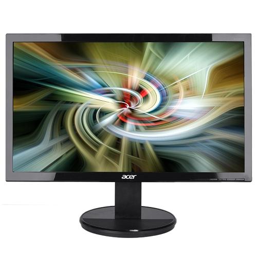 """19.5"""" Acer K202HQL DVI/VGA 1366x768 Widescreen LED LCD Monitor (Black) - B"""