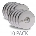 (10-Pack) @.com ONA14CA002E 52x 700MB 80-Minute CD-R Media (10 Packs x 5 Discs Each Pack = 50 Total Discs!)