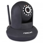 Foscam FI9831W 960p Pan/Tilt Wired/Wireless Day/Night IP Camera w/11 IR LEDs & Smartphone Access (Black)