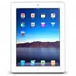 Apple iPad 2 with Wi-Fi 64GB - White (2nd generation) (Etching)