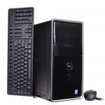 Dell I3847-6162BK Core i3-4170 Dual-Core 3.7GHz 8GB 1TB DVD±RW W10H Mini-Tower Desktop PC w/HDMI & WiFi-N - B