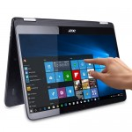 "Acer Spin 7 Touchscreen Core i7-7Y75 Dual-Core 1.3GHz 8GB 256GB SSD 14"" IPS FHD Convertible Notebook W10H w/Cam & BT - B"