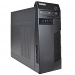 Lenovo ThinkCentre M72e Core i3-3220 Dual-Core 3.3GHz 4GB 500GB DVD±RW No OS Desktop PC (Black)