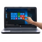 "HP 15-af152nr Touchscreen Fusion Quad-Core A8-7410 2.2GHz 8GB 1TB DVD±RW 15.6"" Notebook W10H w/Cam & BT (Silver) - B"