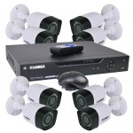 Lorex LHV828 1080p 8-Channel DVR Surveillance Kit w/2TB Hard Drive & 8 IP66 1080p Bullet Cameras