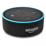 Amazon Echo Dot (2nd Generation) (Black) - Add Alexa to any Room!