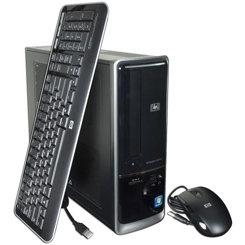 HP Pavilion Slimline s5703w Athlon II X2 220 2.8GHz 4GB 500GB DVD±RW W7HP Desktop PC - B