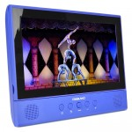 "Digiland DL1001 2-in-1 Android Tablet + DVD Player - Core 1.3GHz 1GB 16GB 10.1"" Touchscreen Tablet Android 7.0 (Blue)"