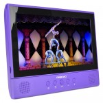 "Digiland DL1001 2-in-1 Android Tablet + DVD Player - Core 1.3GHz 1GB 16GB 10.1"" Touchscreen Tablet Android 7.0 (Purple)"