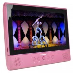"Digiland DL1001 2-in-1 Android Tablet + DVD Player - Core 1.3GHz 1GB 16GB 10.1"" Touchscreen Tablet Android 7.0 (Rose)"