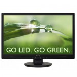 "24"" ViewSonic VA2446m-LED DVI/VGA 1080p Widescreen Ultra-Slim LED LCD Monitor w/Speakers & HDCP Support - B"