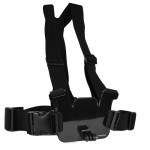 ACTIVEON AM01A Chest Strap for Activeon Action Camera w/Bag (Black)