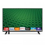 "40"" Vizio D-Series D40-D1 1080p 60Hz Widescreen LCD LED Smart TV - 16:9 2000000:1 2 HDMI NTSC/QAM Tuners (Black) - B"