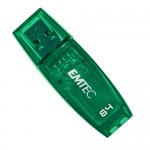 Emtec C400 Candy Series 64GB USB 2.0 Flash Drive (Green) - Retail Hanging Pack