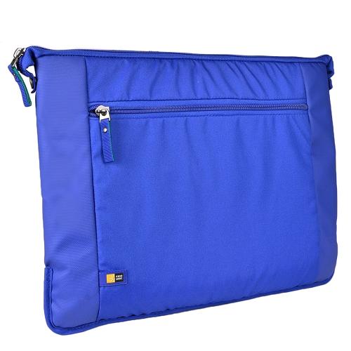 """Case Logic Intrata Laptop Bag w/Adjustable Shoulder Strap (Blue) - Fits Up To 15.6"""" Notebooks"""