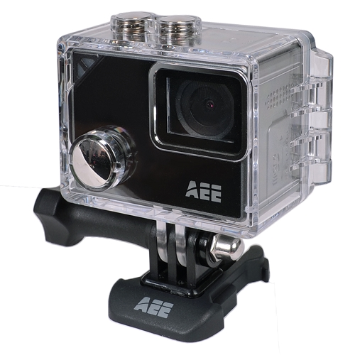 AEE LYFE Silver S91B 4K Action Camera w/Time Lapse