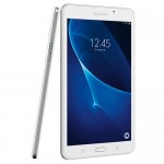 "Samsung Galaxy Tab A Quad-Core 1.3GHz 1.5GB 8GB 7"" Capacitive Touchscreen Tablet Android 5.1 w/Cams & BT (White)"