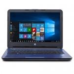 """HP 14-am052nr Celeron N3060 Dual-Core 1.6GHz 4GB 32GB eMMC 14"""" WLED Notebook W10H w/Cam (Noble Blue)"""