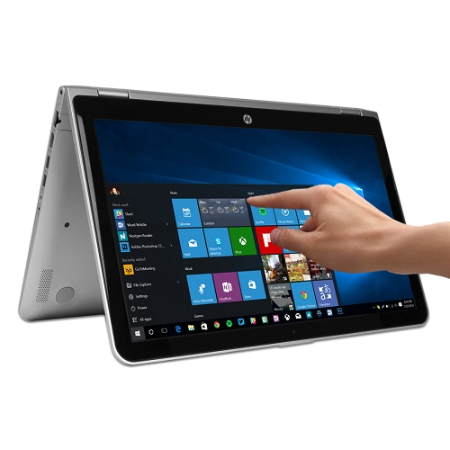 "HP Pavilion x360 15-bk152nr Touchscreen Core i5-7200U Dual-Core 2.5GHz 8GB 1TB 15.6"" WLED Convertible Notebook W10H"
