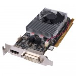 PC Partner GeForce 605 1GB DDR3 PCI Express (PCIe) DVI Low Profile Video Card w/HDMI