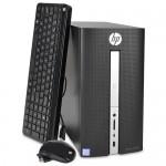 HP Pavilion 570-p056 Core i7-7700 Quad-Core 3.6GHz 12GB 1TB DVD±RW GeForce GT 730 W10H Desktop PC w/Dual HDMI