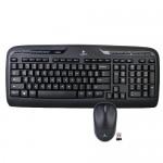 Logitech MK320 Desktop Wireless Multimedia Keyboard & Optical Mouse Kit (Black) - B