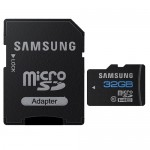 Samsung 32GB Class 10 microSDHC Memory Card w/SD Adapter  - Retail Hanging Package