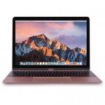 "Apple MacBook Retina Core M3-7Y32 Dual-Core 1.2GHz 8GB 256GB SSD 12"" IPS Notebook OS X (Rose Gold) (Mid 2017) - B"